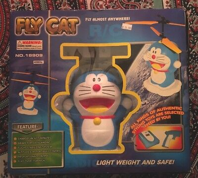 Doraemon RC Fly Cat Toy Helicopter Anime RARE! Preowned RC FLYING CAT!!