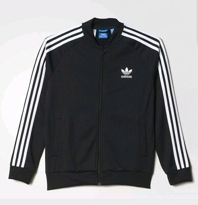 adidas SST Track Jacket Kids' Black SZ S  from 9 to 10 years