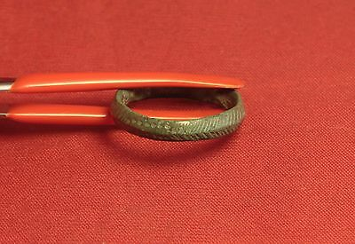 Ancient Celtic Bronze Finger Ring