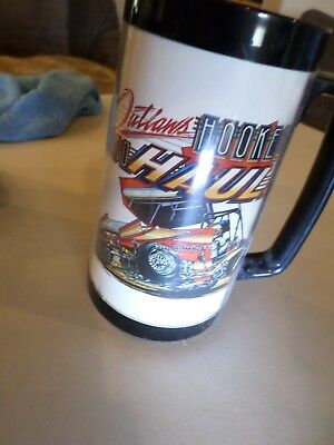 2 World of Outlaw Sprint Car 1980's Plastic Thermal Cup 24oz