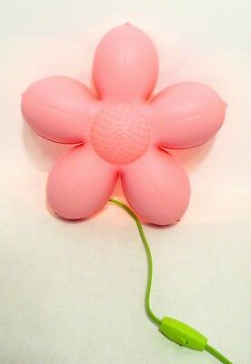 Ikea smila blomma girls wall lamp wbulb pink flower night light ikea smila blomma girls wall lamp wbulb pink flower night light tested aloadofball Images