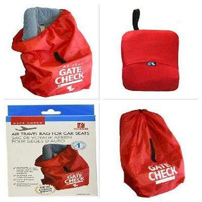 J L Childress Booster Car Seat Airline Airplane Gate Check Bag Travel Waterproof