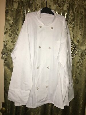 Unisex White Chef Jacket Size XL By Uncommon Threads