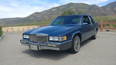 1989 Cadillac DeVille  harp Looking RUSTFREE 1 Owner California Coupe!