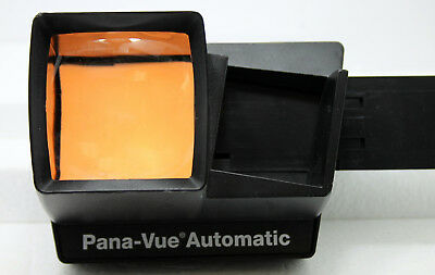 ARGRAPH Pana-Vue Automatic Lighted 2x2 Slide Viewer Tested Works - Free S&H