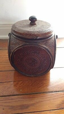 Antique Asian tea caddy. Old and cool.