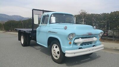 1956 Chevrolet Other Pickups  Clean Solid Task-Force 4400 1.5 Ton Series Dually with Stake body!