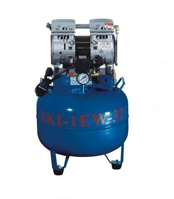 SKI-1EW one for one silent oil-free Noiseless oilless air compressor TK