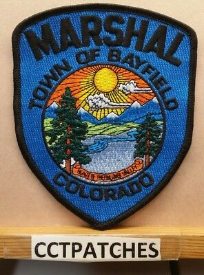Town Of Bayfield, Colorado Marshal (Police) Shoulder Patch Co