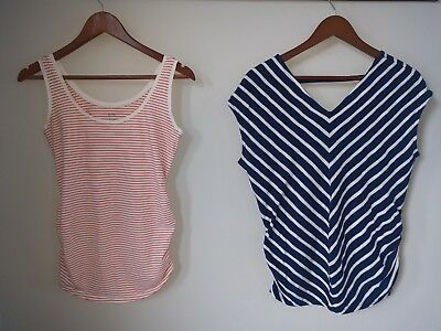 Maternity lot of tank top and Shirt XS Old Navy Summer EUC
