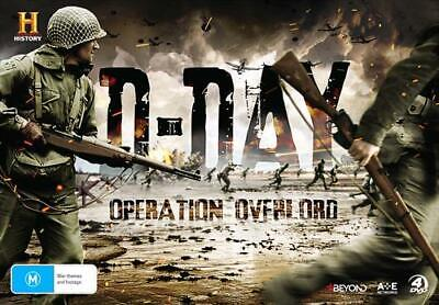 D-Day - Operation Overlord (DVD, 2016, 4-Disc Set) - Region 4