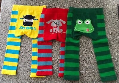 3 Pairs Annabel Trends Baby Leggings Size 0
