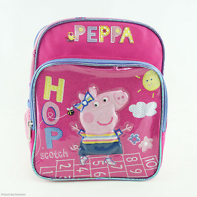 Peppa Pig Kids Mini Small Backpack for Girls Toddlers Hop Scotch Children
