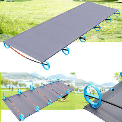 Ultralight Folding Single Camping Bed Aluminium Alloy Tent Cot Outdoor Equipment