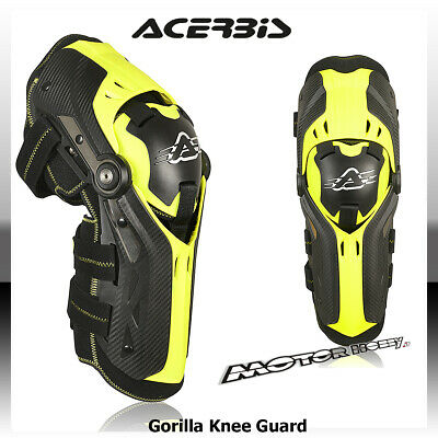 Ginocchiere Snodate Off-Road Cross Enduro Mtb Acerbis Gorilla 2020 Knee Guards