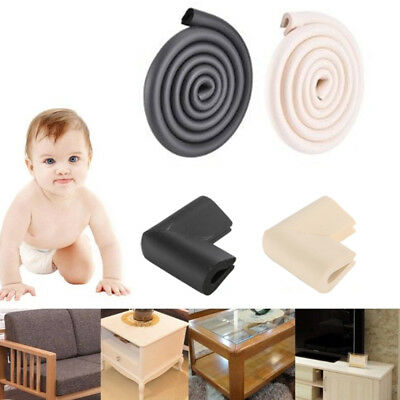 Baby Kids Safety Soft U Corner 2M Edge Protector Foam Guard Cushion Glass Table