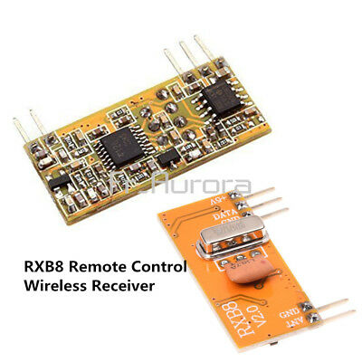 RXB8 433Mhz Superheterodyne Wireless Receiver Module Perfect for Arduino//AVR ST