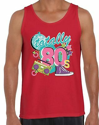 80s Workout Tanks 80s Accessories for Men 80s Party Disco Tops Costumes