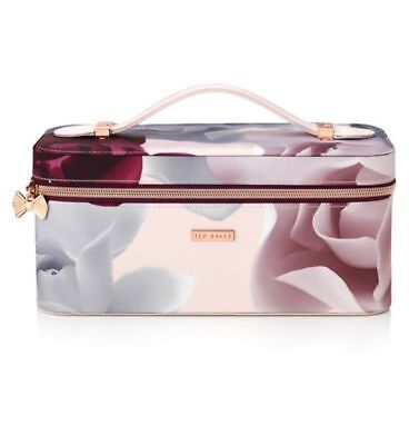 Ted Baker  Cosmetic  Make Up Vanity Case Bag - Luxury Gift Set Mother's Day Bnwt