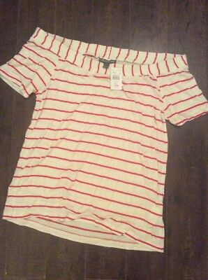 NWT - A Pea In The Pod  maternity shirt- L
