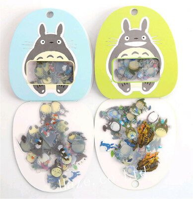 My Neighbour Totoro Sticker Scrapbook Diary Book Decoration Label Great Present