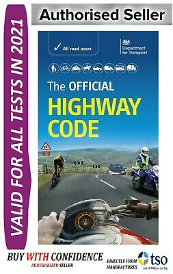 Official DVSA Highway Code Book Valid For 2018 Tests*Hw