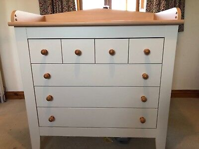 Mamas And Papas Dresser Changing Table Unit Changer With Drawers