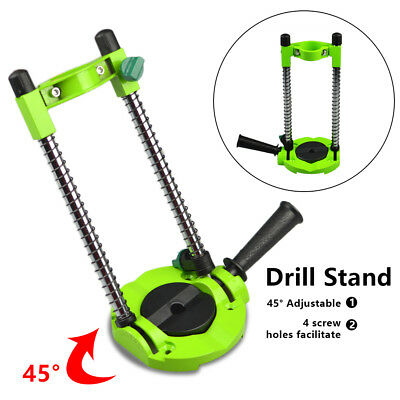 45° Adjustable Drill Guide Drill Stand Electric Drill ∅ 42mm Mobile Swivel AU