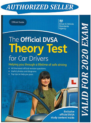 Theory Test Car Drivers Book for 2018 Official DVSA Driving Tests*ThryBk