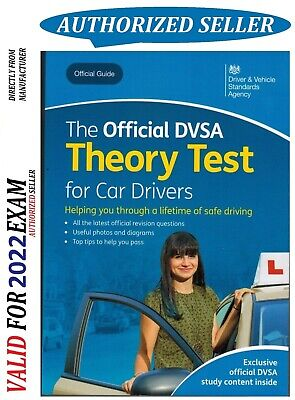 Official Driving Theory Test Book for Car Drivers DSA DVSA DVLA L 2020 -ThryBK