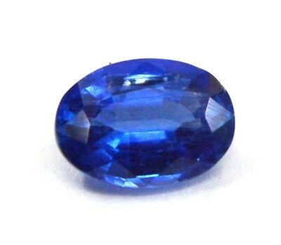 0.95 Ct TOP QUALITY NATURAL BLUE KYANITE 5X7 MM OVAL CUT GEMSTONE FOR JEWELRY