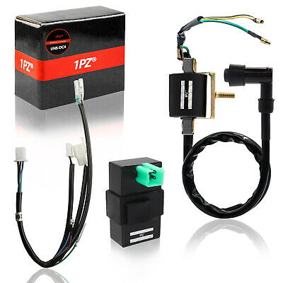4 PIN DC CDI Box For Quad ATV Dirt Pit Bike Go Kart 50cc 70cc 90cc