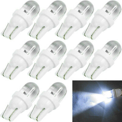 10X T10 194 168 158 W5W 501 White LED Side Auto Car Wedge Light Lamp Bulb DC 12V