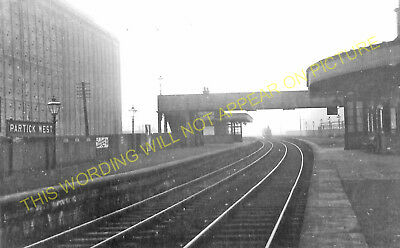 Partick West Railway Station Photo. Whitinch and Scotstoun Line. Caledonian. (3)