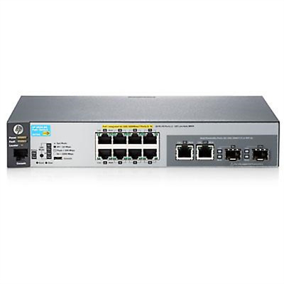HP Switch / 2530-8G-PoE+ Switch # J9774A#ABB
