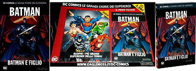 Batman E Figlio Dc Comics Le Grandi Storie Dei Supereroi Eaglemoss Collection