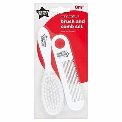 Tommee Tippee Newborn Baby Infant Care Hair Brush & Comb New