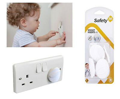 Baby Safety Socket Inserts Electrical Uk Main Plug Cover 1st 6pieces New