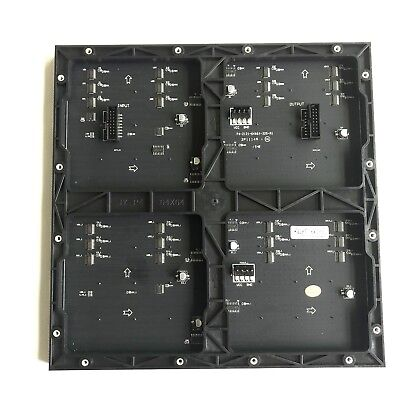 p4 full color led display module indoor rgb 64*64 pixels HID screen 256*256mm