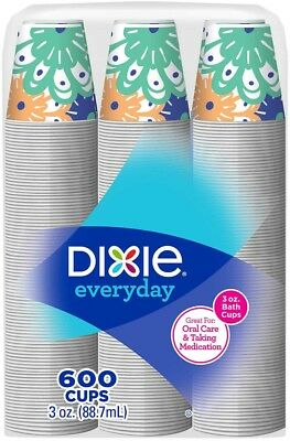 Dixie Paper Cold Cup 3 Oz., 600-count
