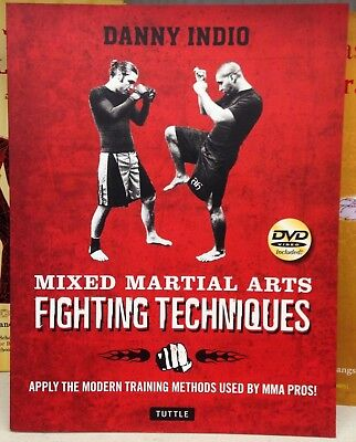 Mixed Martial Arts Fighting Techniques Boxing Book&DVD By Danny Indio MMA PROS