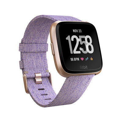 Fitbit Versa Fitness-Smartwatch Special Edition Lavendel/Rosegold