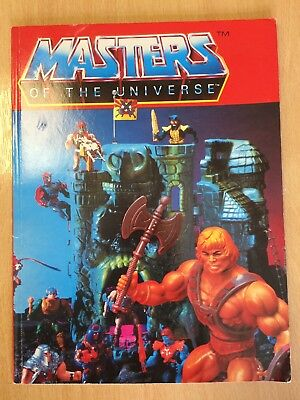 He Man Masters Of The Universe Book *RARE*