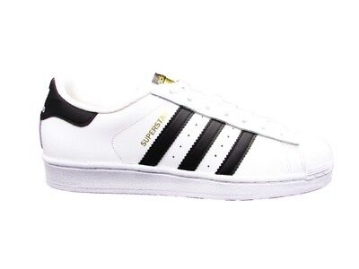 hot sale online bf166 9f9ed Adidas Superstar Classic Sneakers Bianco-Nero C77124