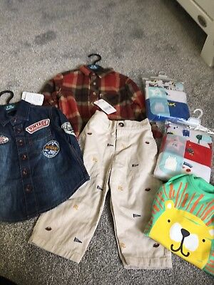 JOB LOT NEW & USED BABY BOYS 9-12 & 12-24 Months Bundle Inc Ralph Lauren