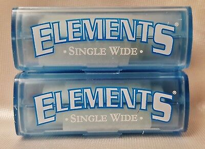 2 Packs Elements 5 Meter Single Wide Ultra Thin Rice Rolling Paper Roll 16.4'