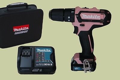 makita akku schlabohrschrauber pink 12 v hp331dsap1 akkuschrauber mit 1x 2 0 ah eur 99 99. Black Bedroom Furniture Sets. Home Design Ideas