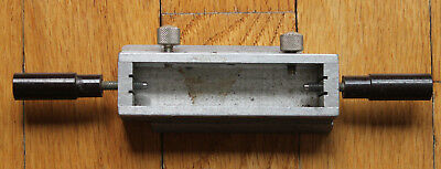 Vintage Kingsley Hot Foil Stamping Machine Handheld Open Chase Box Type Holder