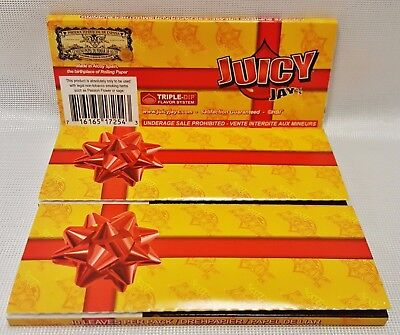 3 Packs Juicy Jay's Birthday Cake King Size Supreme Cigarette Rolling Papers