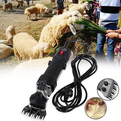 320W Sheep Shears Goat Clippers Animal Shave Grooming Farm Livestock Supplies CE